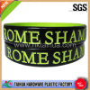 Spray Paint Laser Logo Silicone Bracelet (TH-6159)