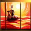 Custom Hot Selling Girl Beauty Picture Sexy Women Photo Oil Paintings Canvas Prints