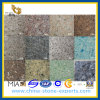 Brown / Gray Crystal Artificial Quartz Stone for Countertops (YQZ-QS1016)
