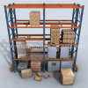 Adjustable Heavy Load Steel Pallet Shelving Storage Rack Shelves