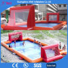 Inflatable Football Playground Inflatable Soccer Field with Soap Water