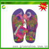 Women Slipper with Flower PVC Upper PE Outsole