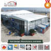 Aluminum Frame Cube Structure Tent with Thermo Roof and Glass Sides