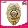 Customized Officer Gold Plated Metal Police Badge