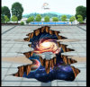 2016 New Universe 3D Floor Sticker