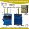 Waste Paperboard Hydraulic Pressing and Strapping Machine with ISO 9001