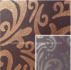 High Quality Printed Pattern Microfiber Leather (FD10)