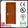Wooden Single Door Designs Interior PVC Wooden Door (WX-PW-104)
