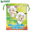Wholesale Promotion Full Printed Small Drawstring Cotton Pouch Bag