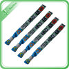 Wholesale Custom Printed Fabric Woven Wristband for Party
