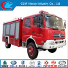 Water and Foam Df Red Fire Truck of 5-6m3 Fire Fighting Truck