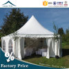 6mx6m Big Pagoda Marquee Tents with White Roof PVC Fabric