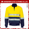 Wholesale Men High Visibility Safety Reflective Bomber Jacket