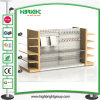 Metallic Gondola Supermarket Shelf Supermarket Rack