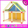 2015 Top Bright Kids Wooden Toy Doll House, Classic Children Wooden Doll House Toy, DIY Cheap Doll House Furniture Toy Set W06A109