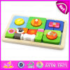 New Creative Wooden Puzzle Game for Kids, Popular Design Children Top Wooden Puzzle Game W14L029