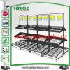 Three Tiers Metal Vegetable and Fruits Display Shelf
