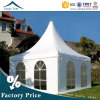 4m*4m Flame Resistant Easy to Assemble Gazebos Pagoda Tent Canopy
