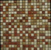 Mixed Color Natural Stone Tile for House Building Material Mosaic (FYSSC073)