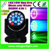 19X15W Bee Eye Beam Light 4 in 1 RGBW LED