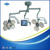 Operating Room Ceiling Mounted Shadowless Surgical Theatre Light with TV Camera (SY02-LED3+5-TV)