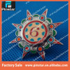 Factory Wholesale Top Quality Free Design Complicated Swiveling Glitter Metal Pin Custom Lapel Pin Made in China