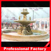 Large Outdoor Carved Sculpture Marble Stone Fountain