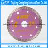 Hot Pressed Super Thin Saw Blade for Cutting Hard Rock