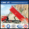 HOWO/JAC/Shacman/Foton/FAW/Iveco/Auman/Beiben 8*4 Front Lifting Dump Truck with Big-Cargo Box