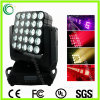 Outdoor 25*10W RGBW Matrix Stage LED Moving Head Lights