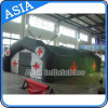 Simple Color and Design Inflatable Army Tent, Air Tight Army Gree Military Tent for Camping
