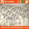 Floral Pattern PVC Deep Embossed Wallpaper