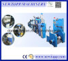 PE Foaming Electrical Wire Cable Extruding Machine