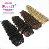 High Quality 100% Remy Human Hair Deep Wave Light Brown Color Hair Deep Wave Hair Extension