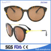 Cr39 and Acetate Frames Polarized Round Sunglasses with Metal Temple