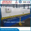 QC11Y-16X6000 hydraulic guillotine shearing machine/plate cutting machine