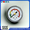 "1.5"" Double Scale Plastic Case General Manometer with Three Color on Dial"