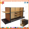 New Customized Supermarket Wooden Retail Display Shelving (Zhs173)