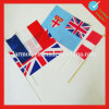 Customized Paper Hand Flag with Stick