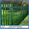 2.4m Galvanized Bent Top Palisade Fencing Panels
