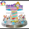 Fiberglass Roundabout Swing Ride Small Horse Carousel From Amigo
