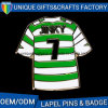 DIY T-Shirt Shaped Metal Pin Badge with Factory Price