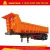 9.7m Sinotruk 2 Axles Dump Semi Trailer Utility Truck Trailer