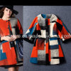 Top Fashion Wool Contrast Color Stock Coats (BP280)