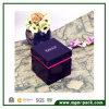 Personalized Single Purple Wooden Watch Box