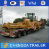 Construction Machine Transport Equipment Trailer Low Bed 100-200 Ton
