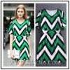Summer New Fashion Printing Women Short-Sleeved Dress