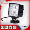 Square 24W Auto LED Head Light for Trucks