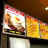 Ultra Slim Light Box with Aluminum Frame for Menu Board