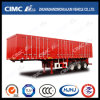 Cimc Huajun High Quality 3axle Van/Box Coal-Carrying Semi Trailer